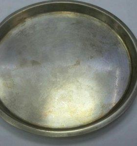 Подносик серебро 875(129гр)