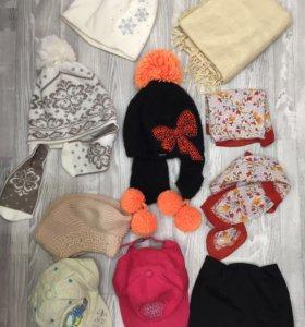 Шапки, кепки, платочки, шарфы