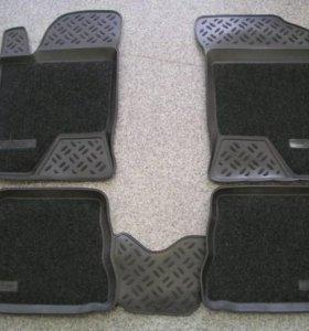 Резиновые и комбинированые коврики
