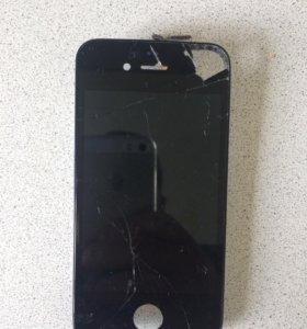Замена дисплей модуль на айфон 4,4s,5,5s,se,6,6s