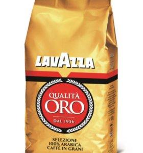 Кофе в зёрнах Lavazza Oro , 1 кг.