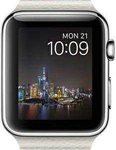 Apple Watch Steel 42mm Leather Loop. Владивосток.