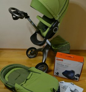 Коляска 2в1 Stokke Xplory V3+Winter Kit