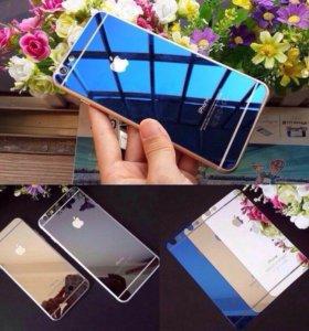 Закаленные цветные стекла для iPhone