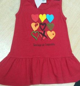 Платье для девочки 2-5лет