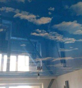 Потолок 500/м,арт печать1000/м