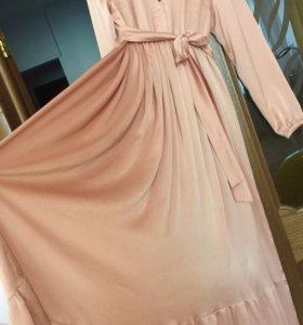 Шёлковое платье Louis Vuitton