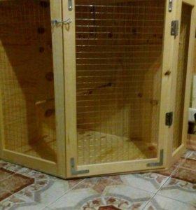 Клетка витрина для грызунов или пернатых