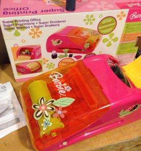 Барби печатный станок