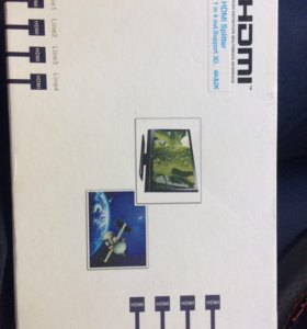 Разветвитель HDMI на 4
