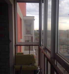 Фасадные окна с новостройки