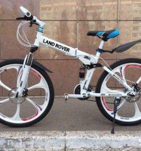 Велосипед на литых дисках BMW