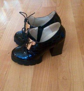 Туфли-ботильоны женские
