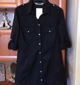 Новая рубашка Zara, 46 размер