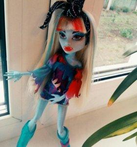 """Кукла Monster High Эбби Боминейбл """"Муз. Фестиваль"""
