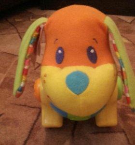Игрушка собачка Tiny Love Фред Дороги меня