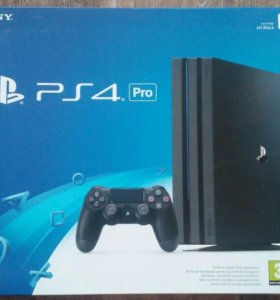 Новая Sony PS 4 Pro/Slim