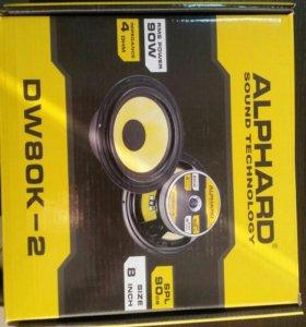Динамик Alphard DW80K2