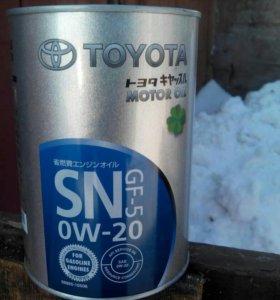 Масло моторное Toyota SN 0w20 1 л