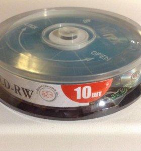 CD-RW 700 Mb/80 min (10 шт.)
