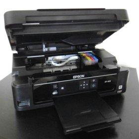 Epson XP-303 + перезаправляемые картриджи