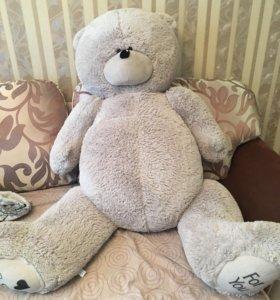 Новый плюшевый 1,5 метровый медведь