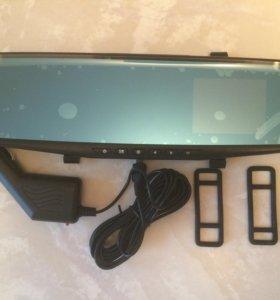 Зеркало заднего вида с видеорегистратором новое