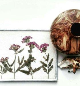 Вазы ручной работы.изделия из дерева