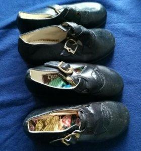Туфли на девочку. Новые.