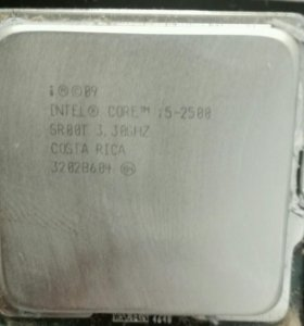 Процессор intel core i5 2500 LGA 1155