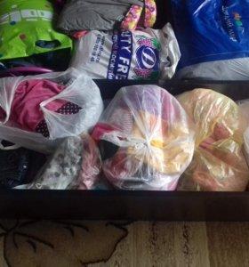 Много одежды на девочку 1-2 лет