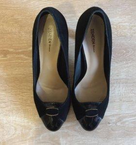 Замшевые туфли Zenden