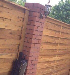 Забор, штакетник
