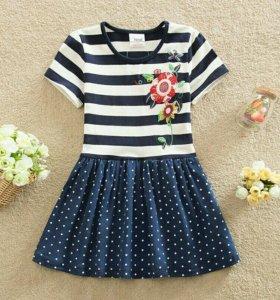 Платье девочкам 5-8лет