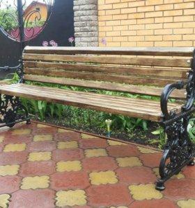 Садовая скамейка. Ширина 170 см