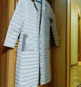 Тонкое зимнее пальто