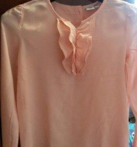 Блузка на 10-12 лет.