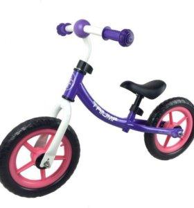 Беговел Triumf фиолетовый