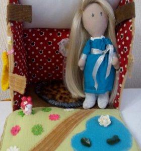 Сумка- домик для кукол