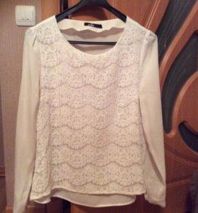 Блузка кружевная Zolla