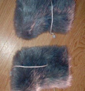 Пинетки очень тёплые натуральная шерсть