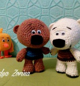 Вязаные игрушки мимимишки