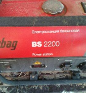 Генератор (бензиновая электростанция Fubag BS 2200