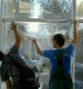 Солнцезащитная пленка-штора для окон