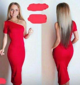 Шикарное облегающее платье