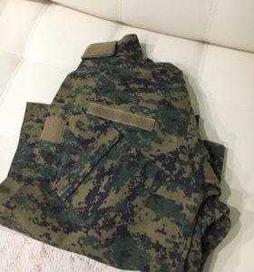 Куртка рубашка камуфляжная