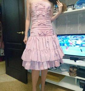 Корсетное платье на выпускной