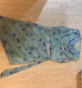 Комплект летний юбка и кофта