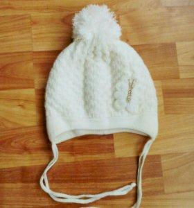 Продам шапку осень-весна для девочки
