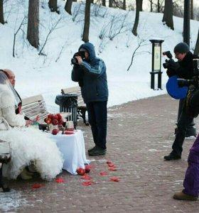 Видеосъемка и фото свадьбы в Подольске.